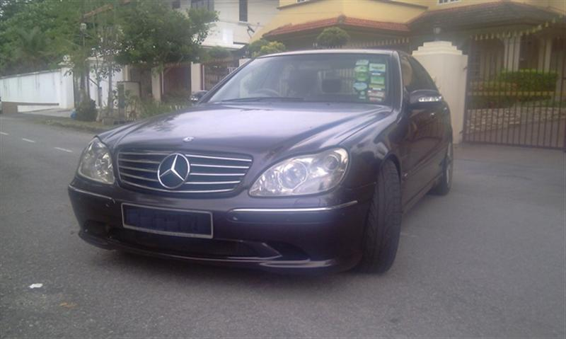 Used 2002 mercedes benz s280 registered year 2007 for sale for Mercedes benz s280 for sale